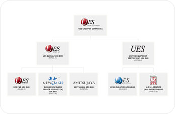 UES Group of Companies - Group Structure